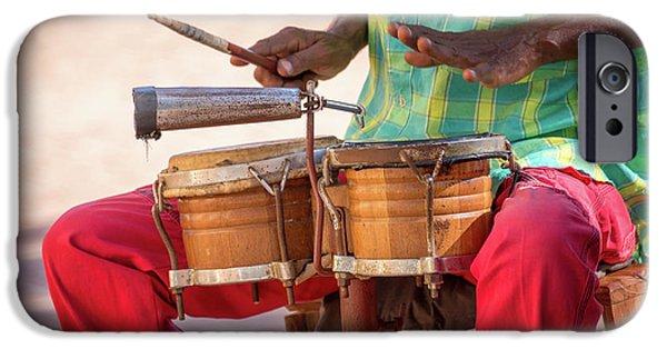 Drum iPhone 6s Case - El Son De Cuba by Delphimages Photo Creations