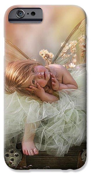 Elf iPhone 6s Case - Elf Baby by Cindy Grundsten