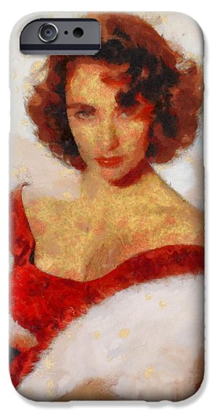 Elizabeth Taylor Actress IPhone 6s Case