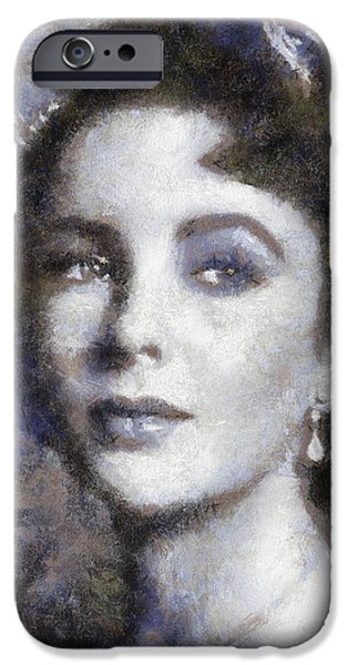 Elizabeth Taylor By Sarah Kirk IPhone 6s Case