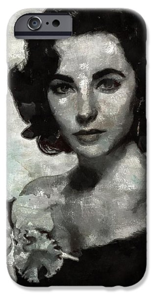 Elizabeth Taylor IPhone 6s Case by Mary Bassett