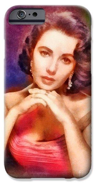 Elizabeth Taylor, Vintage Hollywood Legend IPhone 6s Case by Frank Falcon