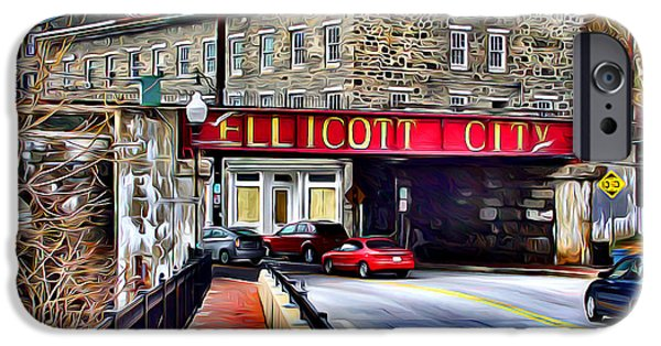 Ellicott City IPhone 6s Case