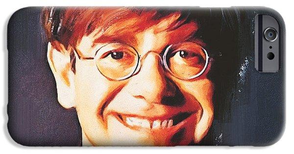 Elton John Young Portrait IPhone 6s Case by Yury Malkov
