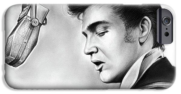 Elvis Presley IPhone 6s Case by Greg Joens