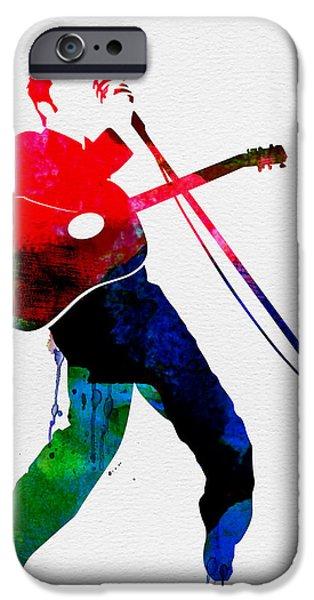 Elvis Watercolor IPhone 6s Case by Naxart Studio