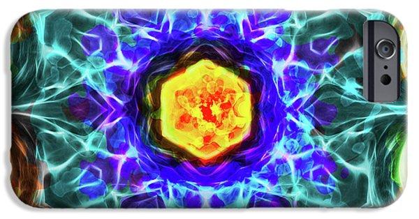 Emerald Circle Mandala IPhone 6s Case