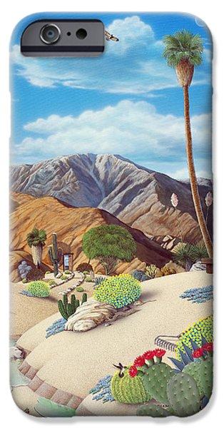 Desert iPhone 6s Case - Enchanted Desert by Snake Jagger