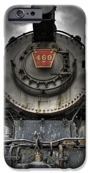 Train iPhone 6s Case - Engine 460 Front And Center by Scott Wyatt