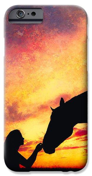 Equine Sunset IPhone 6s Case by Debi Bishop