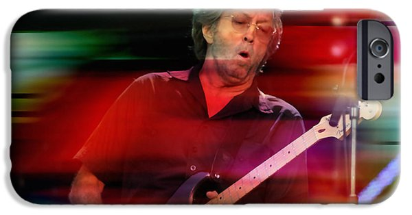 Eric Clapton IPhone 6s Case by Marvin Blaine