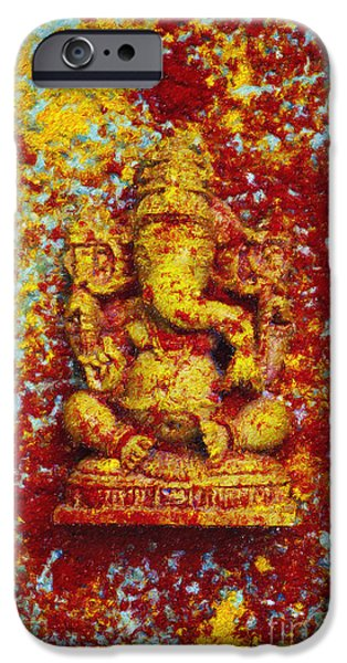 Coloured Pencil iPhone 6s Case - Essence Of Ganesha by Tim Gainey