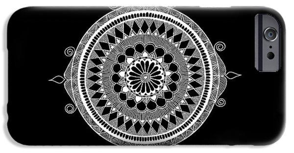 iPhone 6s Case - Estrella Mandala by Anmol Jauher