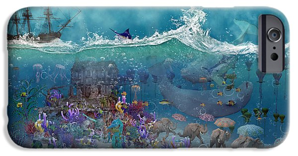 Scuba Diving iPhone 6s Case - Everything Under The Sea by Betsy Knapp