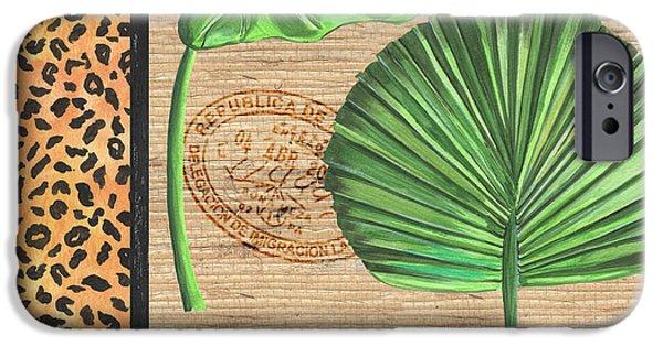 Cheetah iPhone 6s Case - Exotic Palms 2 by Debbie DeWitt