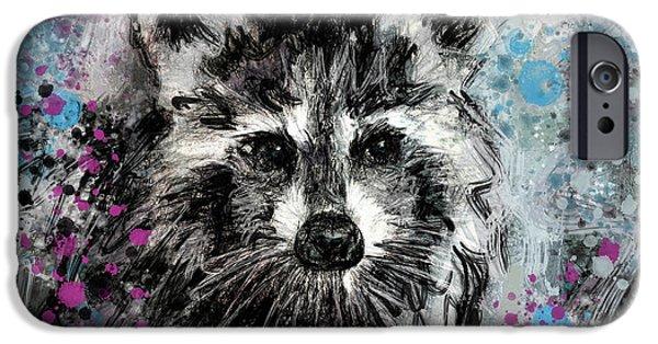 Expressive Raccoon IPhone 6s Case