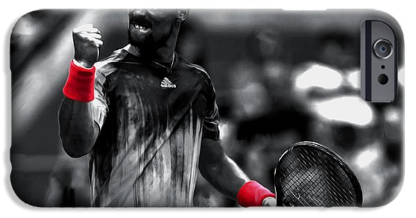 Venus Williams iPhone 6s Case - Fabio Fognini by Brian Reaves