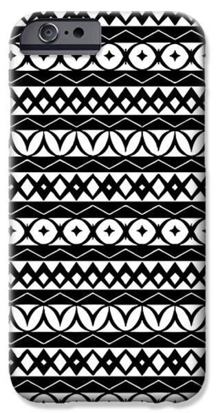 Fair Isle Black And White IPhone 6s Case by Rachel Follett