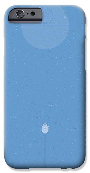Falcon iPhone 6s Case - Falcon Attack by Samuel Whitton
