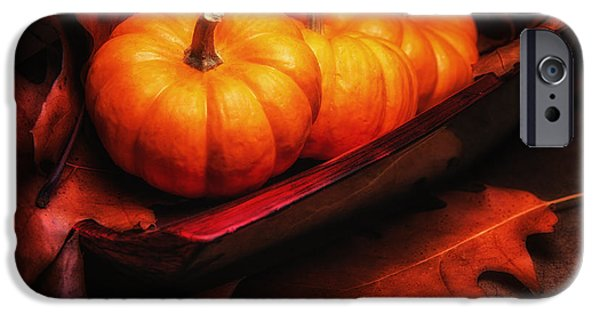 Fall Pumpkins Still Life IPhone 6s Case by Tom Mc Nemar