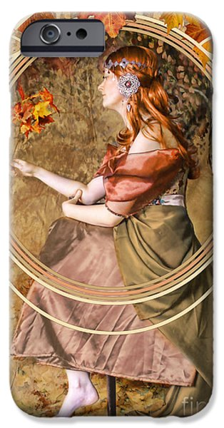Falling Leaves IPhone 6s Case by John Edwards