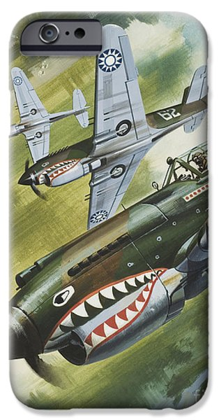 Famous Aircraft And Their Pilots IPhone 6s Case by Wilf Hardy