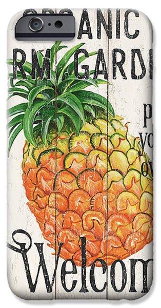 Pineapple iPhone 6s Case - Farm Garden 1 by Debbie DeWitt