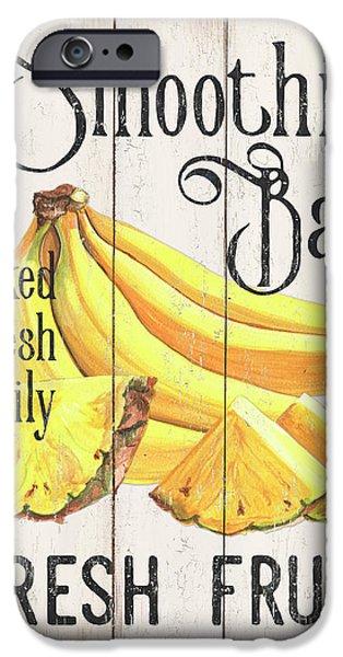 Pineapple iPhone 6s Case - Farm Garden 2 by Debbie DeWitt