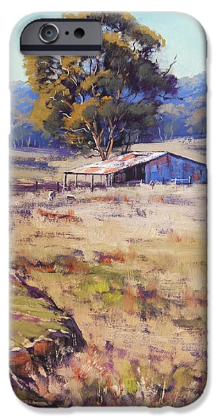 Rural Scenes iPhone 6s Case - Farm Shed Pyramul by Graham Gercken