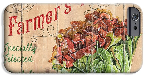 Farmer's Market Sign IPhone 6s Case by Debbie DeWitt