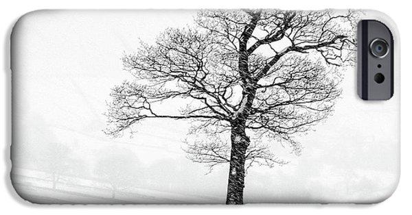 Sheep iPhone 6s Case - Farndale Winter by Janet Burdon