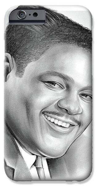 Drum iPhone 6s Case - Fats Domino by Greg Joens