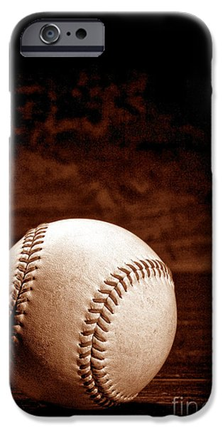 Baseball iPhone 6s Case - Favorite Pastime  by Olivier Le Queinec