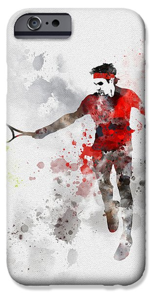 Federer IPhone 6s Case by Rebecca Jenkins
