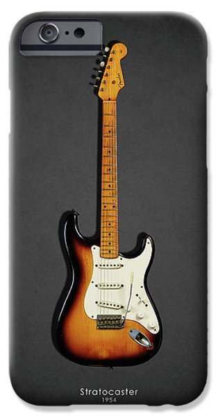 Music iPhone 6s Case - Fender Stratocaster 54 by Mark Rogan