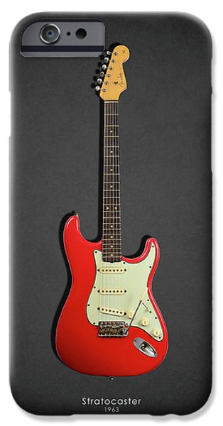 Guitar iPhone 6s Case - Fender Stratocaster 63 by Mark Rogan