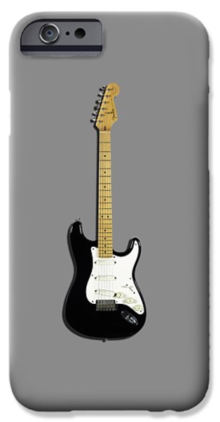 Fender Stratocaster Blackie 77 IPhone 6s Case by Mark Rogan
