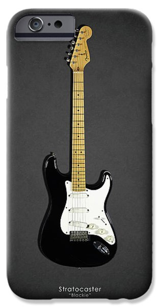Eric Clapton iPhone 6s Case - Fender Stratocaster Blackie 77 by Mark Rogan
