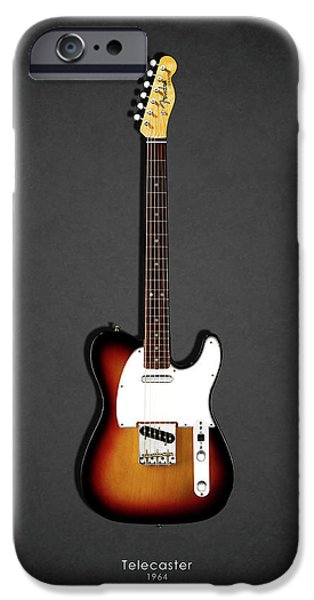 Jazz iPhone 6s Case - Fender Telecaster 64 by Mark Rogan