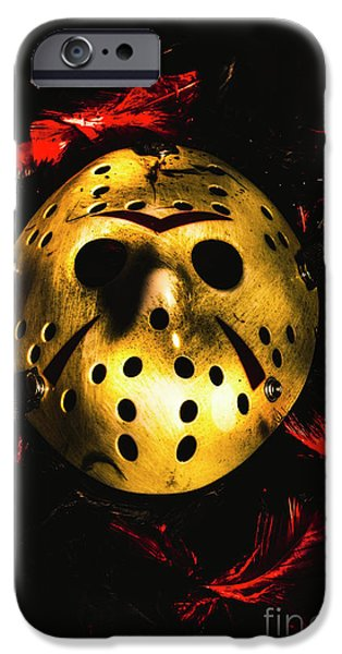 Hockey iPhone 6s Case - Fields Of A Killers Wake by Jorgo Photography - Wall Art Gallery