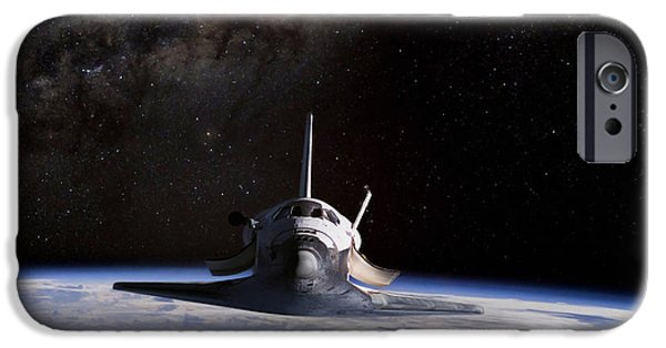 Space Ships iPhone 6s Case - Final Frontier by Peter Chilelli