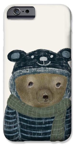 First Winter Bear IPhone 6s Case