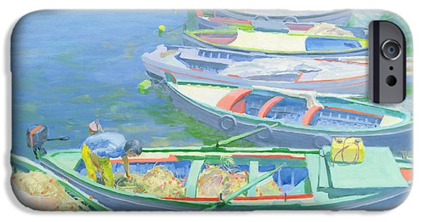 Boat iPhone 6s Case - Fishing Boats by William Ireland