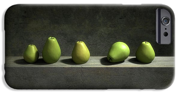 Still Life iPhone 6s Case - Five Pears by Cynthia Decker