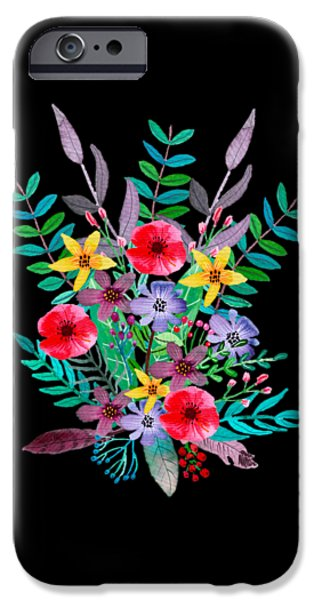 Flowers iPhone 6s Case - Just Flora by Amanda Lakey