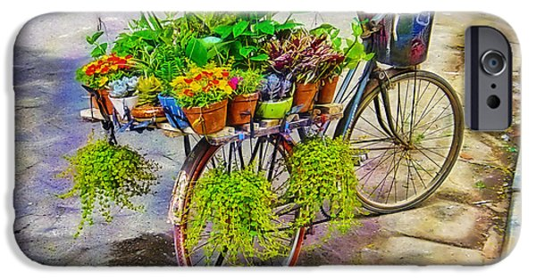 Flower Bike Collection IPhone 6s Case by Marvin Blaine