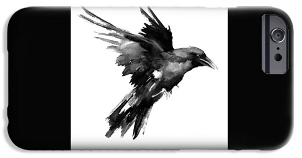 Flying Raven IPhone 6s Case by Suren Nersisyan