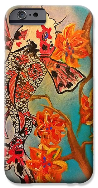 Focus Flower  IPhone 6s Case by Miriam Moran