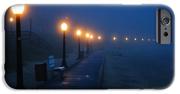 Foggy Boardwalk Blues IPhone 6s Case by Bill Pevlor