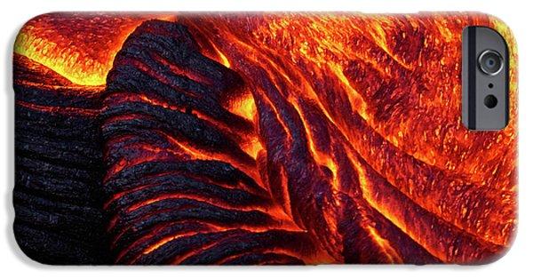 Pele iPhone 6s Case - Folding Lava by Christopher Johnson